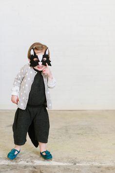 Skunk Mask- CHILD