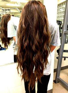 Long hair!!