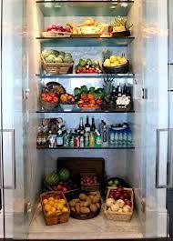 Yolanda Foster's custom refrigerator.
