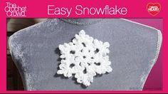 Crochet Snowflake Tu