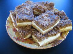 Streusel Pumpkin Cheesecake Bars - !