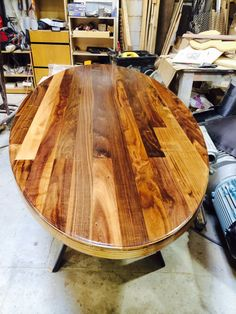Walnut Oval Dining T