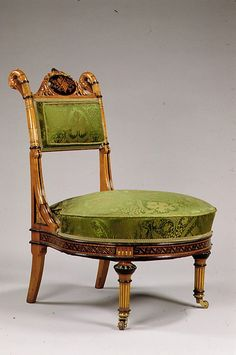 Sewing Chair Attributed to Herter Brothers ca. 1864-1906