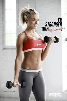 Stronger than my insecurities.