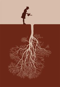 Nurture your inner growth and put down roots...
