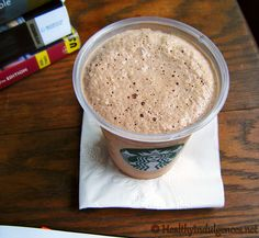 "Healthy Homemade Mocha ""Frappucino"" Frozen Coffee Drink by HealthyIndulgencesBlog, via Flickr mocha frappucino, whey protein, magic bullet, low carb recipes, frozen coffe, coffee drinks, homemad mocha, healthi homemad, coffe drink"