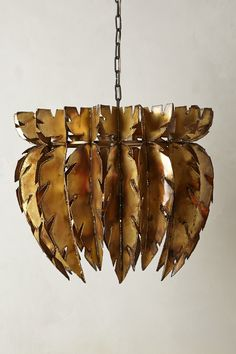 Feathered Chandelier - anthropologie.com