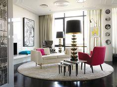 D co d 39 int rieur on pinterest salons vintage interior design and decor - Deco interieur vintage ...