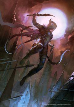 Might & Magic Card by Guizz #fantasyart #rogue