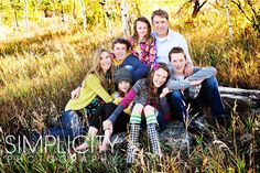 great family of 7 photos.