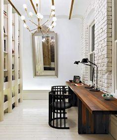 Home Office Heaven #decor #design #contemporarydesign @sweattearsandgold