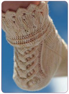 Beautiful Socks!!  Ravelry: Ada Lovelace pattern by Star Athena