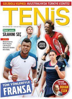 Tenis Dünyası dergisi, Mayıs sayısı yayında! Hemen okumak için: http://www.dijimecmua.com/tenis-dergisi/