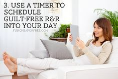 5 ways using a simple timer will completely change your life, from FunCheapOrFree.com