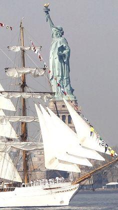 Statue of Liberty....
