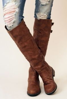jean, fashion shoes, tall boots, cloth, style, knee high boots, knee highs, brown boots, girls shoes