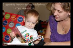 WOW! Great tips to support literacy during the toddler years.