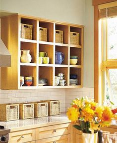 Small Kitchen 2: Storage Cubbies