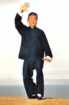 Grand Master Tung Kai Ying, Yang Style Tai Chi Chuan, White Crane Cools Its Wings Movement, #tungkaiying #tung #tai #taichi #taiji #taichichuan #martial #martialarts #LA #CA #california  http://tungkaiying.com/master.shtml