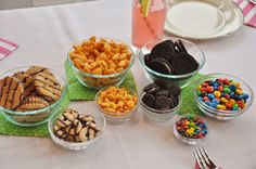 American Girl Doll Party Big and Mini treats