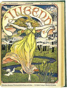 1898 Jugend Magazine by mica12244art, via Flickr