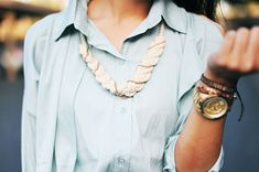 Thanks, I Made It: TIMI Elsewhere: Rope and Chain Braided Necklace DIY