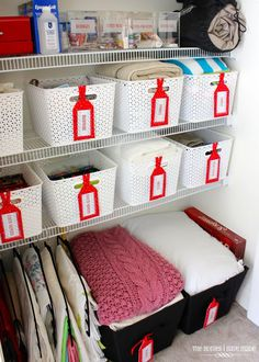 The Homes I Have Made: Ideas for Organizing the Linen Closet