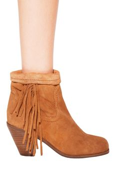 Click Image Above To Buy: Louie Boot In Whiskey - Designed By Sam Edelman