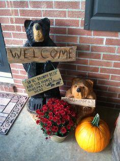 Fall black bears