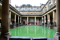 The Roman Baths | Things To Do In Bath, England
