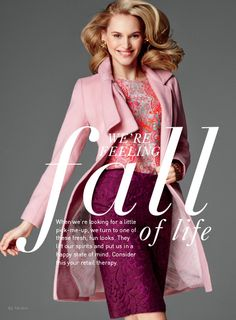 Think Pink! Cabi Fall 2014 Bonus Book - Style Tips and Suggestions - www.StyleU.CAbiOnline.com