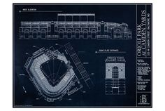 Ballpark Blueprints - Oriole Park at Camden Yards http://ballparkblueprints.com/collections/mlb-prints/products/oriole-park-at-camden-yards