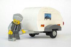Teardrop trailer in Legos!