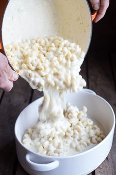 Creamy Brie Four Cheese Mac and Cheese with Buttery Ritz Crackers | halfbakedharvest.com