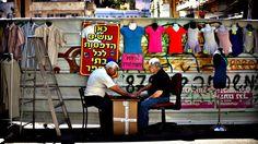 Betzalel market in central Tel Aviv