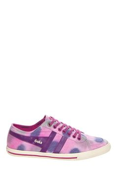 Gola - Quota Dye CLA187 Sneaker - Plum Purple Pink