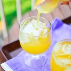 Mango Wine Coolers