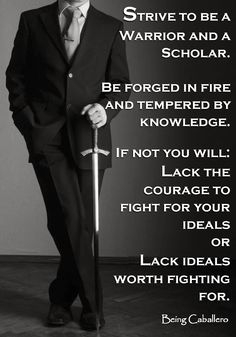 """The society that separates scholars from warriors will have its thinking done by cowards and its fighting done by fools."" ~ Thucydides  #INTJ #myt"