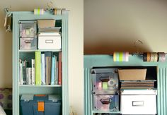 DIY organization ideas from my home office.
