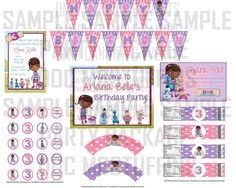 Doc McStuffins Birthday Party - ideas So cute! My baby wants either Doc Or Lalaloopsy for her party! Decisions decisions!