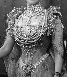 Queen Alexandra at her coronation!  Enough jewels for you?