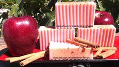 Apple Cinnamon Soap  Oatmeal and Honey Base by SouthwestSoaps