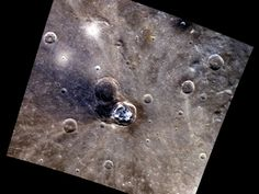Balanchine crater on Mercury from Messenger spacecraft