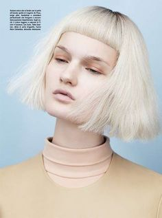 Kirsi Pyrhonen by Josh Olins, Vogue Italia.