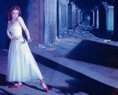 A 1948 Movie Momentin 'The Red Shoes': Moira Shearer as the ballerina who must dance…