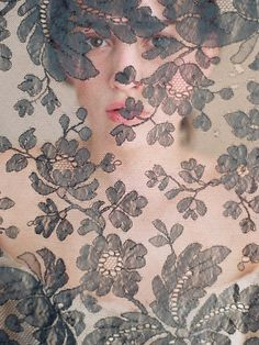 photographing through lace - beautiful.