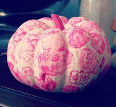 Courtesy of sorority sugar! #PhiMu #Sorority #Pumpkin