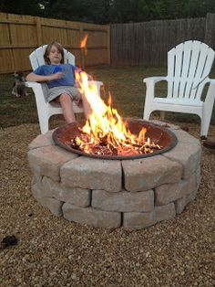 Boxy Colonial: Fire Pit Weekend Revealed!