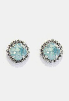 Ti Adoro - Pacific Opal Crystal Stud Earring