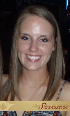 Jessica Dyson, Beta Sigma, Lois V. Beers Scholarship